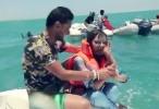 رامز قرش البحر الحلقة 9 كاملة مع جنات برنامج ترفيهي مقالب اثارة - رمضان 2014