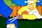 هومر سیمپسون يقص شعر مارج (زوجتة) بالصدفة هههههه اونلاين 2015