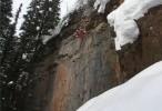 تزلج مجنون من ارتفاع