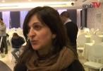 نيفين ابو رحمون عقب اخيارها المرشحة الخامسة في قائمة التجمع