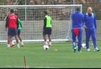تحضيرات إخاء الناصرة لمباراة ربع نهائي كأس الدولة