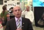 الاعلامي سعيد حسنين يحلل ويلخص يوم الانتخابات من مقر القائمة المشتركة اونلاين 2015