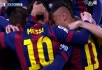 برشلونة VS ريال مدريد فيديو أهداف المباراة  الدوري الأسباني اونلاين 15-22-03