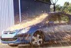 مقلب لكل من يغسل سيارته - رمي وسخ على سيارات نظيفة اونلاين 2015