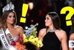 خطأ فادح ملكة جمال العالم لمدة دقيقتان فقط !!