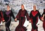 دبكة فلسطينية - تكسية - غادة درباس وعماد بطايه كليب تراث فلسطيني اونلاين 2015