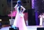 ملكة جمال لبنان شيرين فخرالدين احرجت زليخة غلاب سيدة الأعمال المغربية