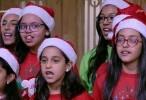 احتفالات السفيرة بعيد ميلاد السيد المسيح على أصوات الملائكة!