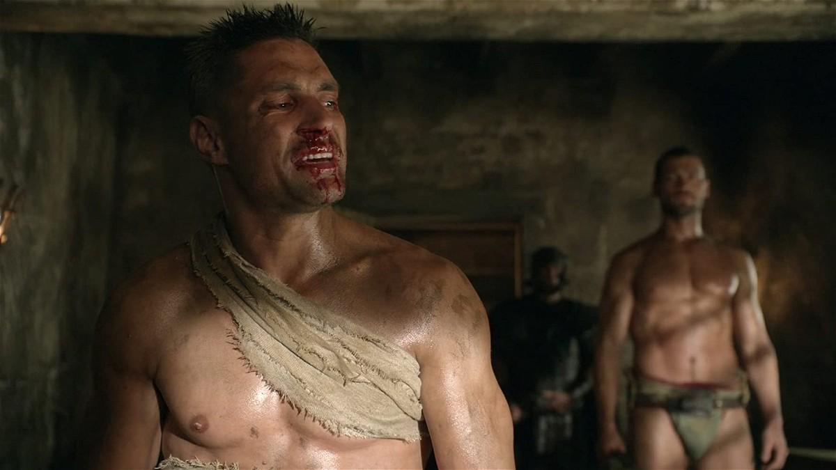 Spartacus الحلقة 8