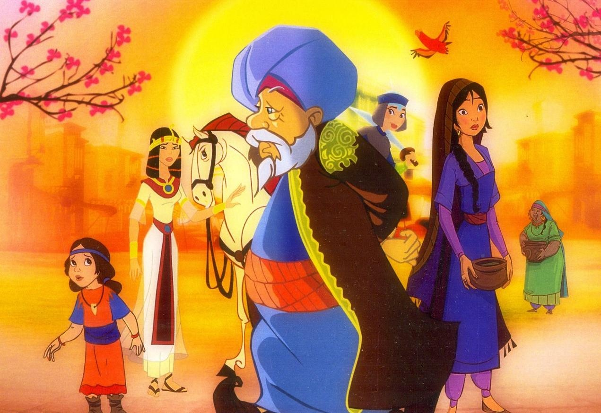 مشاهدة المسلسل المصري قصص النساء فى القرآن  الحلقة 18 الثامنة عشرة اونلاين على العرب