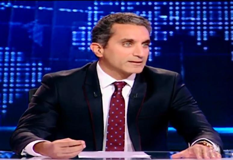 مؤتمر صحفي لباسم يوسف يعلن عن نهاية برنامج البرنامج