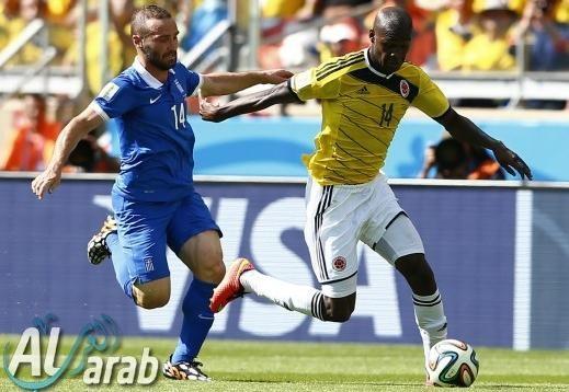 كولومبيا واليونان 3-0 فيديو اهداف