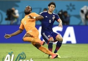 ساحل العاجل واليابان فيديو اهداف 3 - 0 كامل