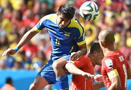 سويسرا والإكوادور فيديو اهداف 2 - 1