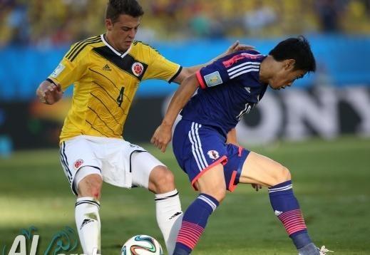 كولومبيا واليابان 4 - 1 فيديو اهداف