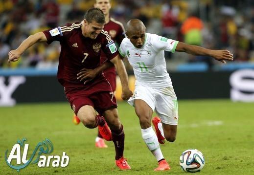 روسيا والجزائر 1 - 1 فيديو اهداف
