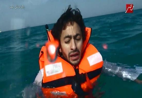 رامز قرش البحر الحلقة 2 كاملة برنامج ترفيهي مقالب اثارة مع حمادة هلال - رمضان 2014