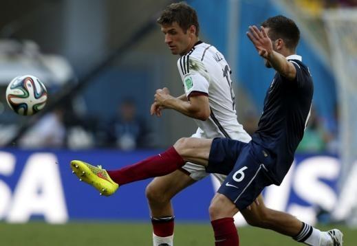 المانيا وفرنسا 1 - 0 - فيديو اهداف