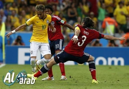 البرازيل وكولومبيا 2 - 1 فيديو اهداف - مونديال 2014