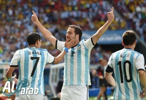 الأرجنتين وبلجيكا 1 - 0 فيديو اهداف