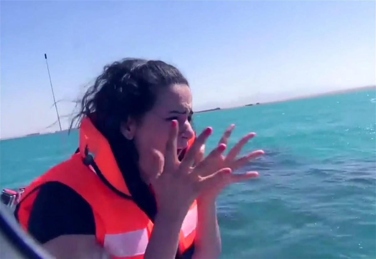 رامز قرش البحر الحلقة 12 كاملة مع سما المصري برنامج ترفيهي مقالب اثارة - رمضان 2014
