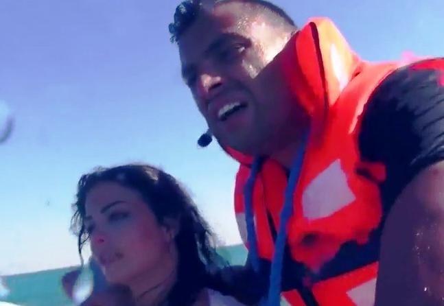 رامز قرش البحر الحلقة 14 كاملة مع رامي صبري برنامج ترفيهي مقالب اثارة - رمضان 2014