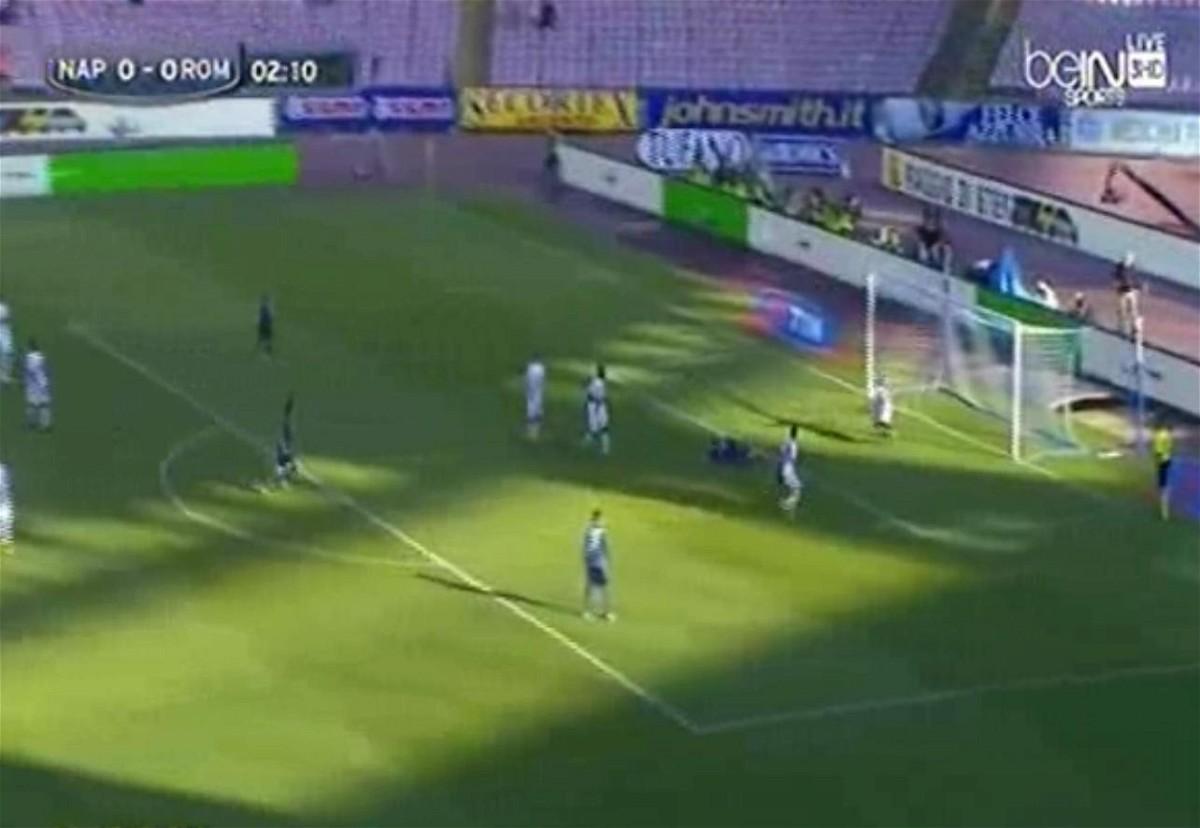 napoli vs roma نابولي وروما فيديو اهداف المباراة - 14-1-11