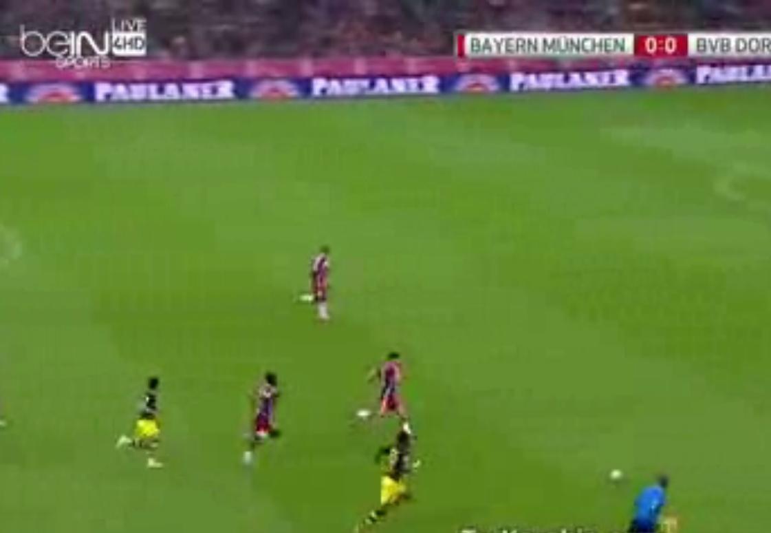 بايرن ميونخ وبروسيا دورتموند 2-1 فيديو اهداف المباراة 14-2-11