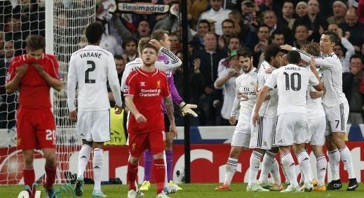 ريال مدريد امام ليفربول الإنجليزي 1-0 - 14-11-4