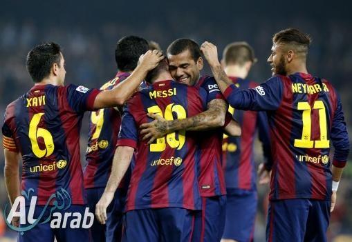 برشلونة وأشبيلية فيديو اهداف المباراة