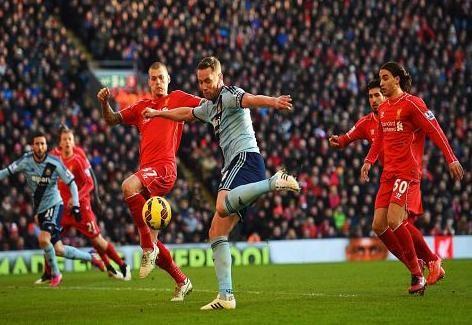 أهداف مباراة ليفربول vs وست هام يونايتد الدوري الإنجليزي 15 - 31 - 1