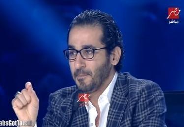 حلمي يبكي وينعي شهداء سيناء وشيماء اون لاين 2015 arabs got talent