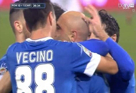 أهداف مباراة ( روما VS إمبولي) HD الدوري الإيطالي 15 - 31 - 1