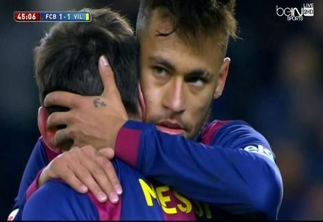 أهداف مباراة برشلونة VS فياريال الدوري الاسباني 15 - 2 - 1