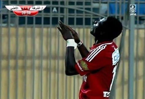 أهداف مباراة إتحاد الشرطة VS الأهلي الدوري المصري 15-2-7