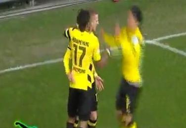 اهداف مباراة بروسيا دورتموند وفرايبورج  3 - 0 الدوري الألماني 15-2-7