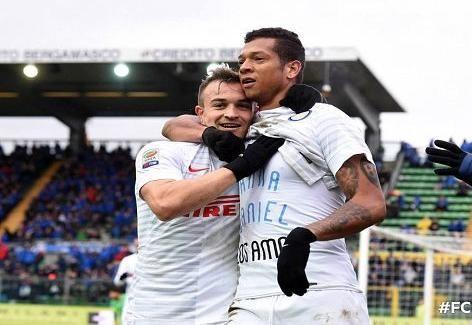 أهداف مباراة أتلانتا vs إنتر ميلان HD الدوري الإيطالي 15-2-15