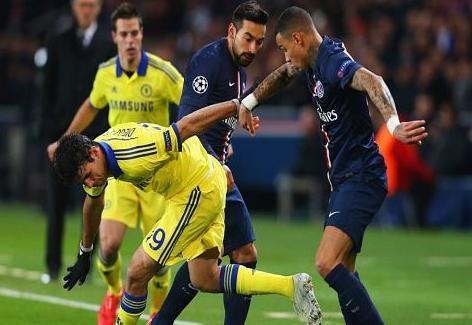 أهداف مباراة باريس سان جيرمان vs تشيلسي دوري أبطال أوروبا 15-2-17 اونلاين