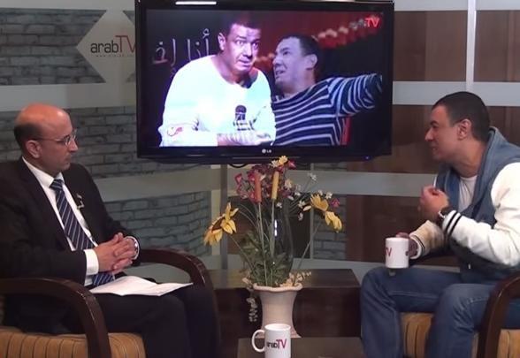 لقاء خاص مع الشاعر المصري هشام الجخ في استوديوهات العرب في الناصرة