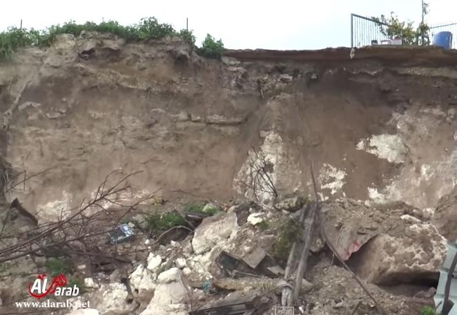 معاناة اهالي حي كرم الصاحب وكارثة تحدث في المكان - الناصرة