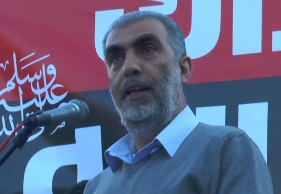 كلمة الشيخ كمال الخطيب في المظاهرةضد الاساءة  للرسول