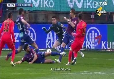 أهداف مباراة إيبار vs برشلونة HD الدوري الأسباني 2015