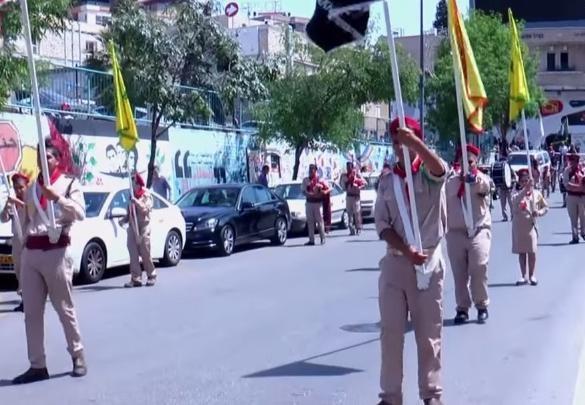 مسيرة عيد البشارة للطائفة الارثوذكسية - الناصرة