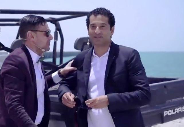 رامز واكل الجو الحلقة 19 مع عمرو سعد كاملة اونلاين رمضان 2015