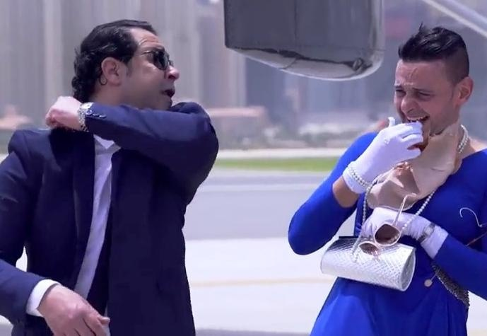 رامز واكل الجو الحلقة 23 مع مدحت صالح كاملة اونلاين رمضان 2015