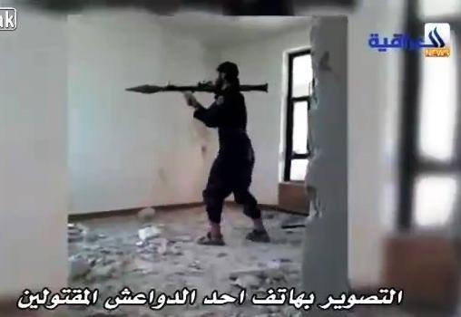 خطأ عنصر من داعش يؤدي الى موته اونلاين 2015