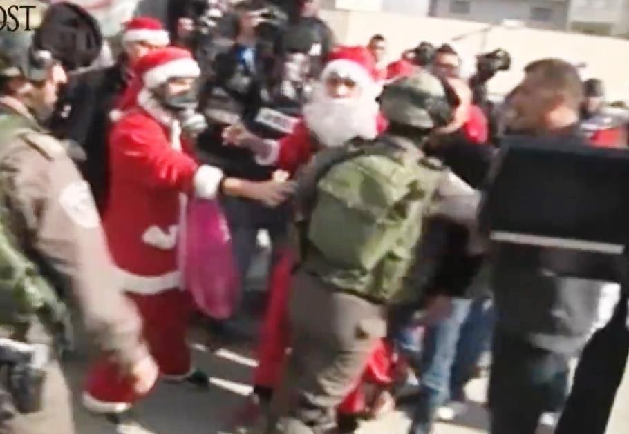 شاهدوا جيوش اسرائيل تفسد بهجة العيد الميلاد المجيد