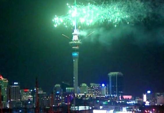 احتفال نيوزيلندا بالعام الجديد 2016 - مهرجانات رأس السنة الميلادية