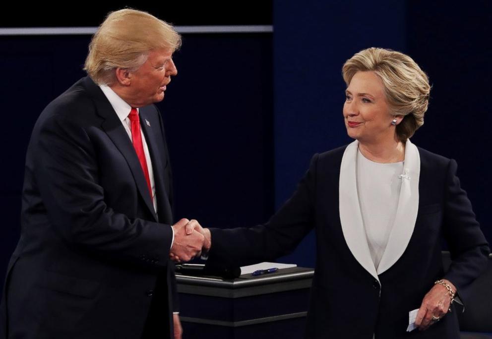 خطاب  trump and clinton 2016  مدبلج للعربية