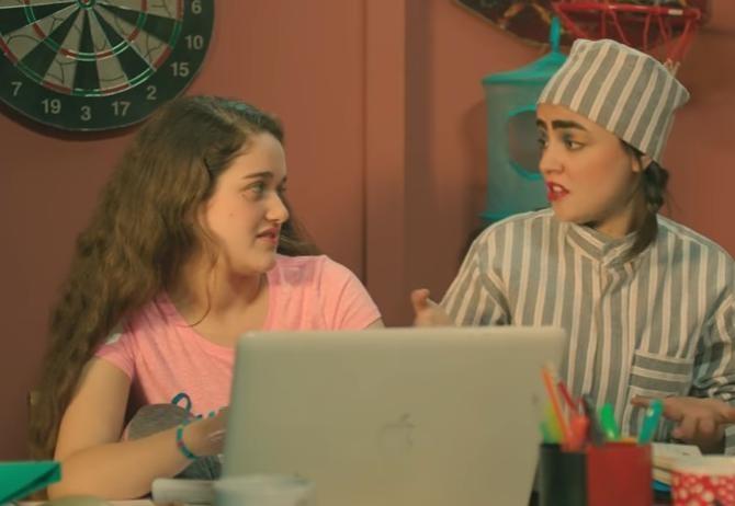 يوميات زوجة مفروسة أوي الجزء 3 الحلقة 18 الثامنة عشرة 2017 جودة HD